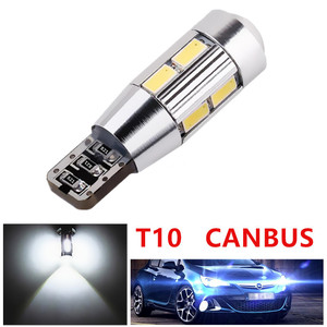 T10 W5W 5630 SMD White CANBUS OBC No Error LED Lamp 501 dash led car bulbs interior Lights Car Light Source parking 12V
