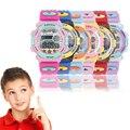 Boys Girls Kids Rubber LED Light Digital watch Stopwatch Reloj hombre Mujer Sports Wrist Watches Children Relogio Masculino