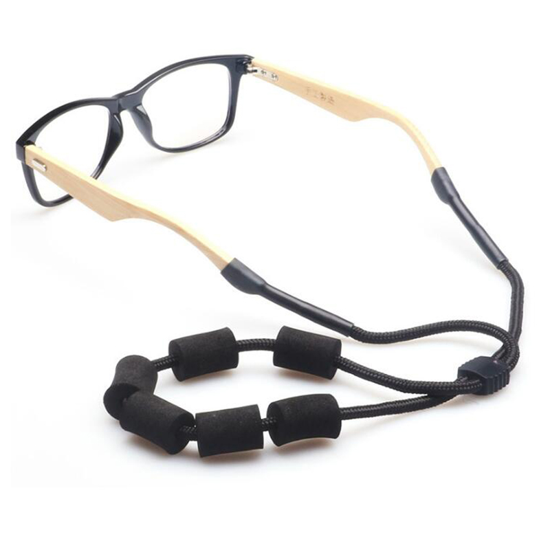 Outdoor Adjustable Swimming Goggles Sun Glasses Neck Lanyard Retainer Cord