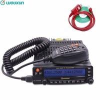 Wouxun KG UV950P Quad полос пропускания восемь полос Приём высокое Мощность мобильный трансивер с несколькими функциями двухстороннее радио