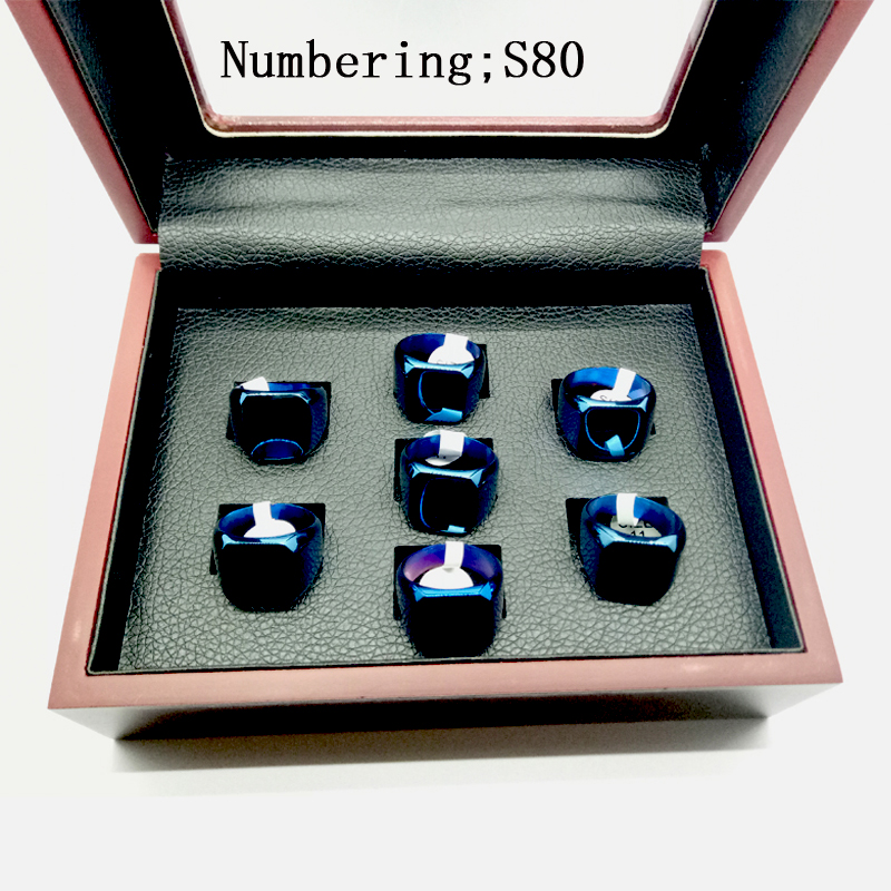 NumberingS80 7pcs 2002 2014 1961 1968 1954 1957 1970 ring Manufacturer fast shipping