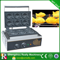 Commercial Korea Fish Waffle Maker _Electric Taiyaki Maker Machine_ Taiyaki Making Machine