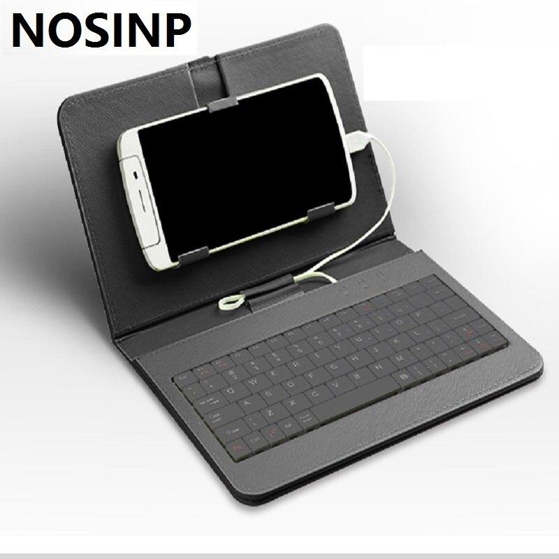 bilder für NOSINP Doogee T6 pro fall Allgemeine Tastatur Holster für 5,5 zoll Android 6.0 OS Smartphone durch freies verschiffen