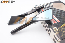 Motorcycle rearview mirror all aluminum case for YAMAHA XJ6 FZ600 FZ1000 MT07 MT09 MT10