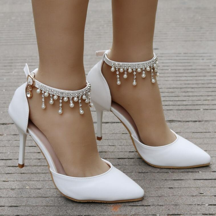 Hottest Selling Women Crytal Boots Tie up Rose Gold Silver Diamond Wedding Shoes Dress Pums Open