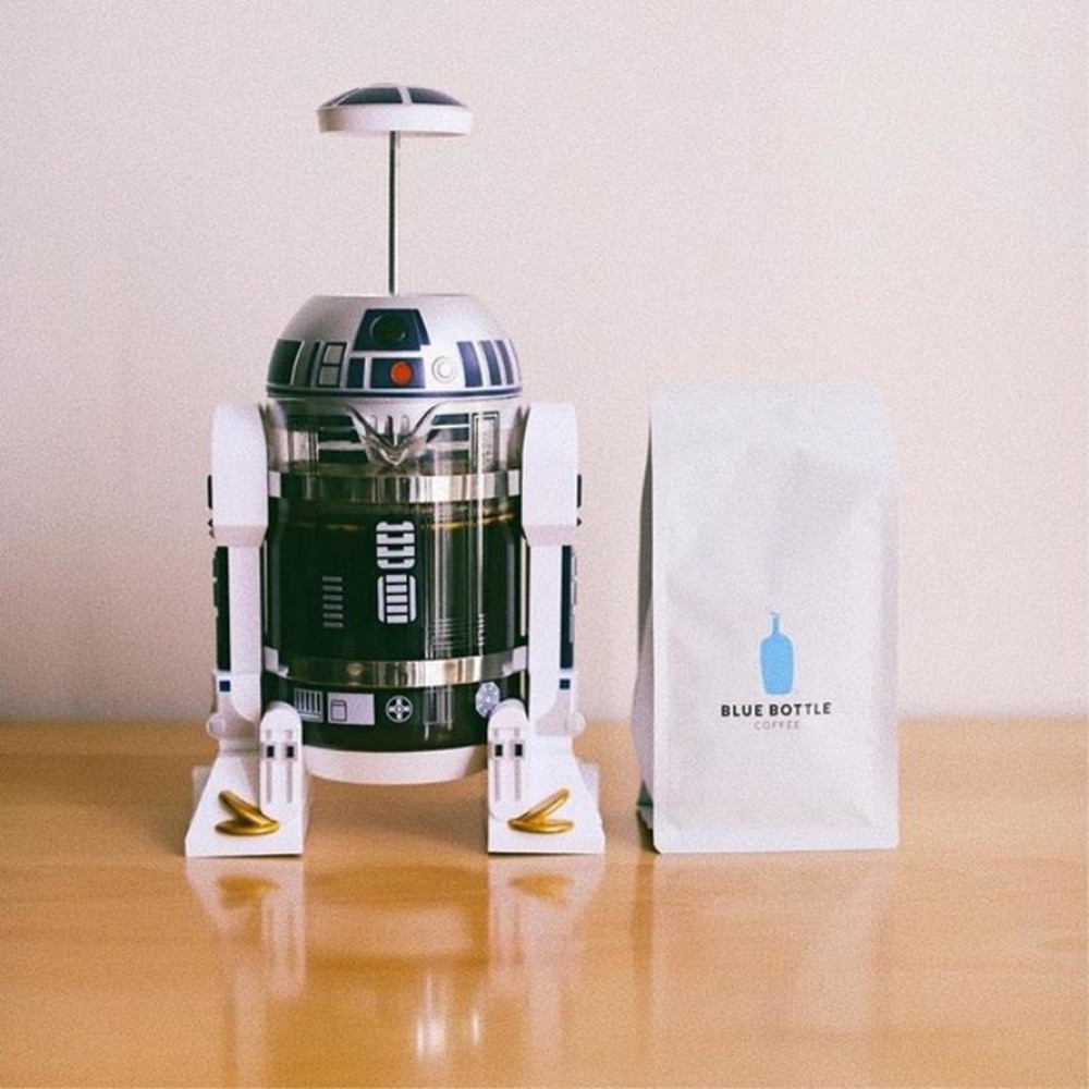 HTB1czQ7cliE3KVjSZFMq6zQhVXaw R2-D2 Manual Coffee Maker