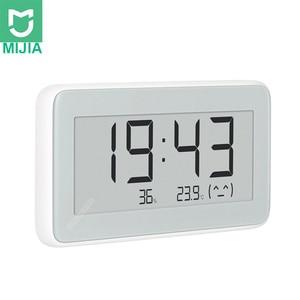 Image 1 - Xiaomi Mijia BT4.0 sans fil intelligent électrique horloge numérique intérieur et extérieur hygromètre thermomètre LCD température outils de mesure