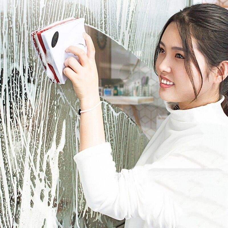 Adaptable Handheld Double Side Magnetische Vensterglas Reinigingsborstel Voor Wassen Ramen Schoner Glas Oppervlak Borstel Voor Badkamer Keuken