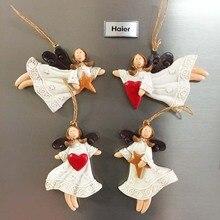 Европа Франция Англия Германия Бельгия сувениры для туристов магнитные наклейки на холодильник милые ангелы