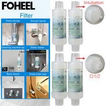 Filtro de água para torneira foheel, para assento de banheiro inteligente e torneira de chuveiro compre 2 obter 1 grátis