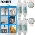 Foheel filtro de água para assento de vaso sanitário inteligente e torneira do chuveiro comprar 2 obter 1 livre