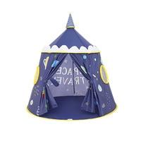 2018 Новые Милая дворец палатка изысканный розовый палатка Замок принцессы Типи каморка Для мальчиков и девочек играть дома детская игровая