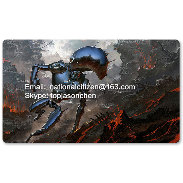 US $19 99 |Many Playmat Choices Shimmer Myr MTG Board Game Mat Table Mat  for Magical Mouse Mat the Gathering-in Board Games from Sports &