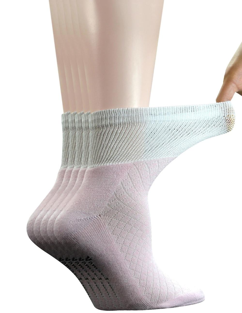 5 пар женских дышащих носков с бамбуковой подошвой
