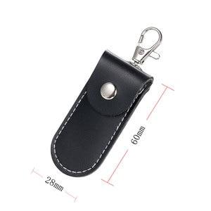 Image 2 - U דיסק אחסון מקרה מגן כיסוי עור מקל מתאם עבור סמסונג שחור תיק עבור קינגסטון USB דיסק און קי Pendrive מקרי