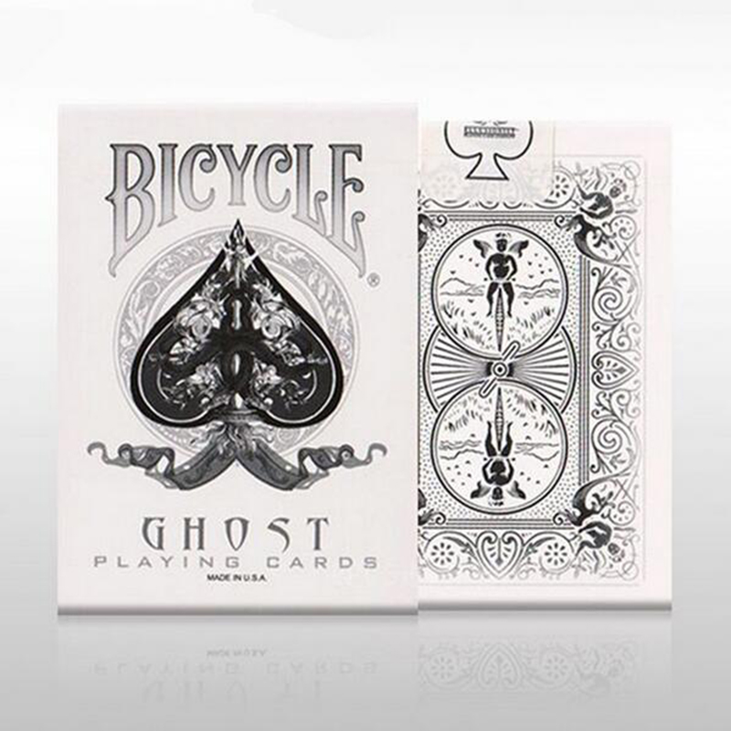 все цены на 1 Deck Bicycle White Ghost Playing Cards Magic Props Magic Magia Poker Tricks Bicycle Deck Pokers Card Magic Toy 83083