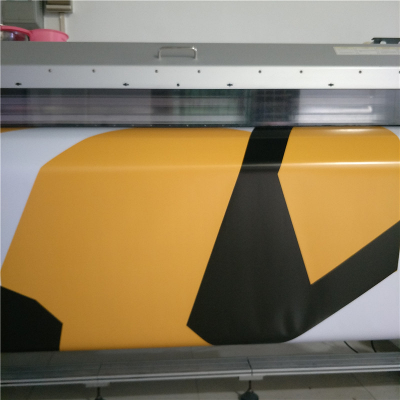 1.52*5/10/15/20/25/30m yellow black white Camouflage Vinyl Wrap Film Bubble Free For Car Wrap for furniture цена