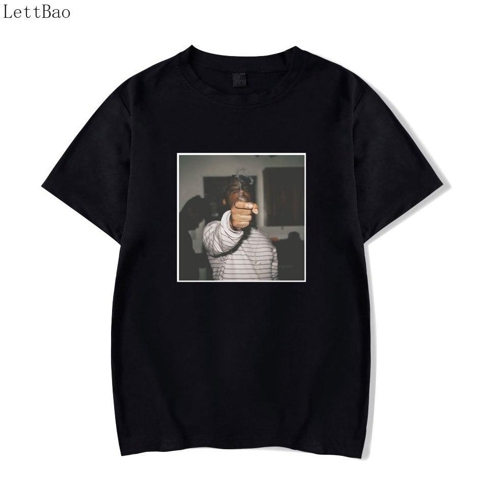 Retro Classic Juice Wrld Print Fashion Hip Hop Singer Rock Harajuku Mens T Shirt Black Cool Summer Tshirt Streetwear T-shirt Men
