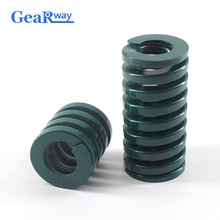 Gearway Green Compression Spring TH35x70/35x75/35x80/35x95/35x100mm Heavy Loading Tubular Section Mould Die Compression Spring