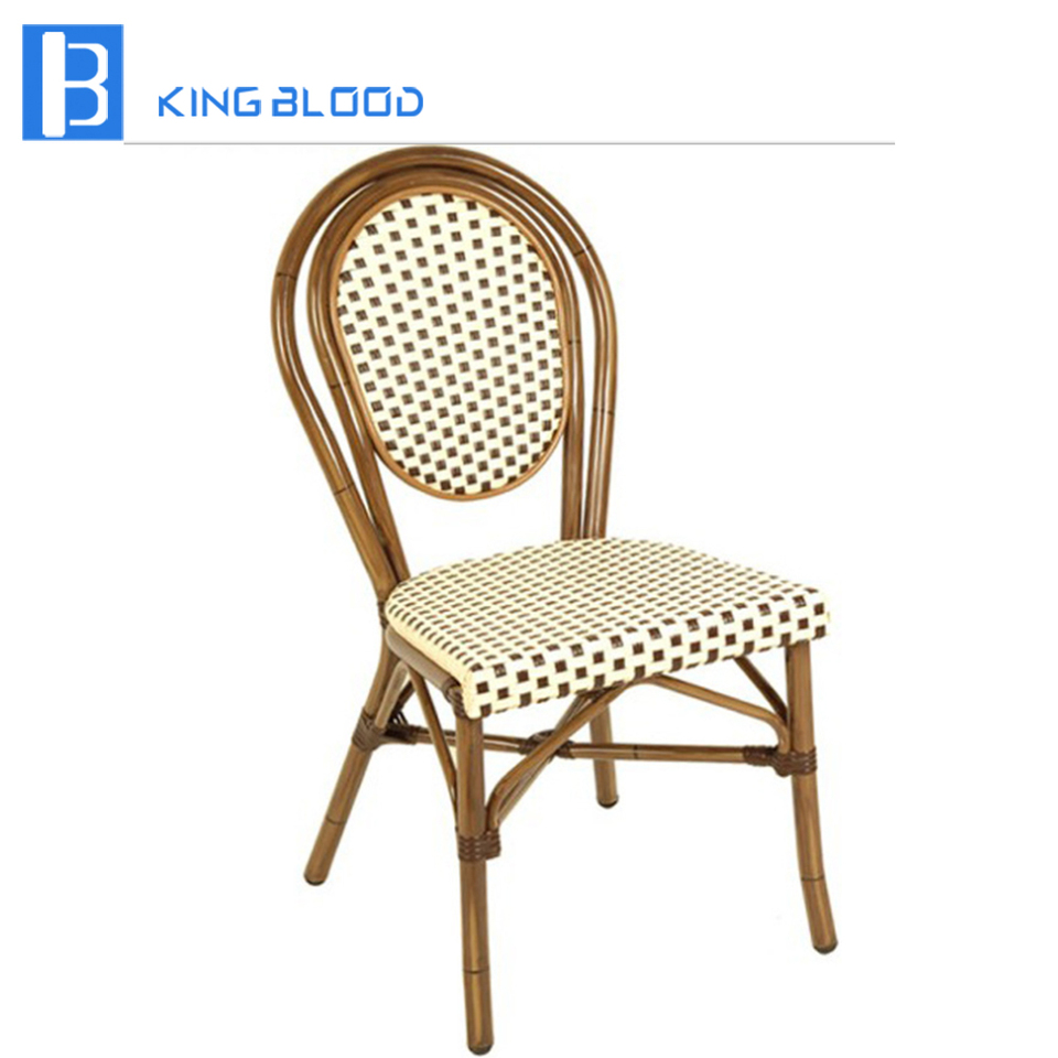 Outdoor french bistro cafe rattan chairs  - AliExpress