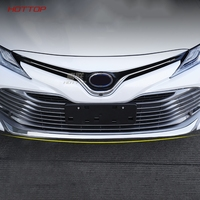 Chrome Front Bumper Cover Lower Trim Lip For Toyota Camry 2018 2019 8 8th XV70 car Accessories