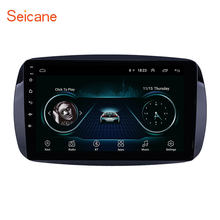 Seicane GPS para coche reproductor de Radio para Mercedes Benz Smart 2016 con Bluetooth AUX soporte DVR Carplay OBD de Control de volante(China)