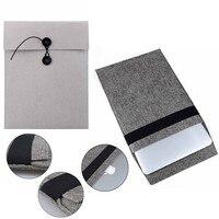 New Gray Felt Sleeve Bag For Macbook Air 13 Pro 13 Pro Retina 13 Grey Gelt