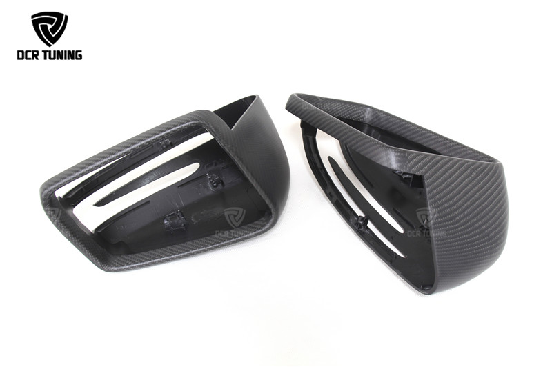Mercedes Carbon Mirror W204 W207 W212 W176 W218 W221 Mercedes A C CLS E CLA Class Carbon Mirror Cover  (1)