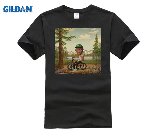 0d94f7c516fd GILDAN Tyler The Creator Wolf T Shirt EARL Odd Future Wolf Gang HIP HOP  OFWGKTA OF The New Fashion for Short Sleeve T-shirt