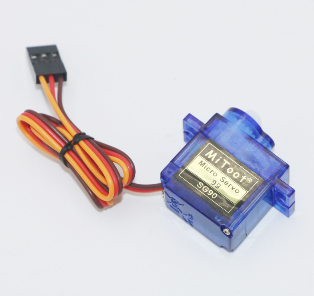 1pcs Mitoot RC Micro Servo SG90 Servo For Arduino Aeromodelismo Align Trex 450 Airplane Helicopters Accessories 20pcs lot 100% brand new sg90 mini gear micro servo for rc car boat helicopter airplane trex 450 wholesale