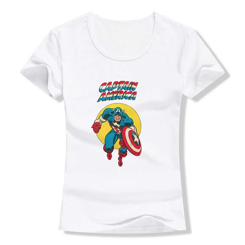 מארוול נוקמי Thor Ghost Rider ברזל איש בתוספת גודל רופף O-צוואר מודאלי קצר שרוול נשים חולצות T 2019 אופנה מזדמן a193291