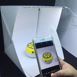Мини складной lightbox фотографии Аксессуары для фотостудий Софтбоксы свет мягкий Box Фото Задний план комплект световой короб для цифровых зер...