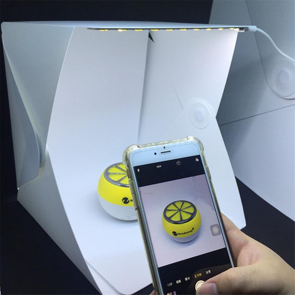 Mini Falten Leuchtkasten Fotografie Fotostudio Softbox LED-Licht Box ...