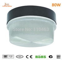 Крытый потолочный светильник 80 Вт 240 В 6400lm декоративные кухня свет IP65 индукции открытый потолочный светильник Motion pirsensor