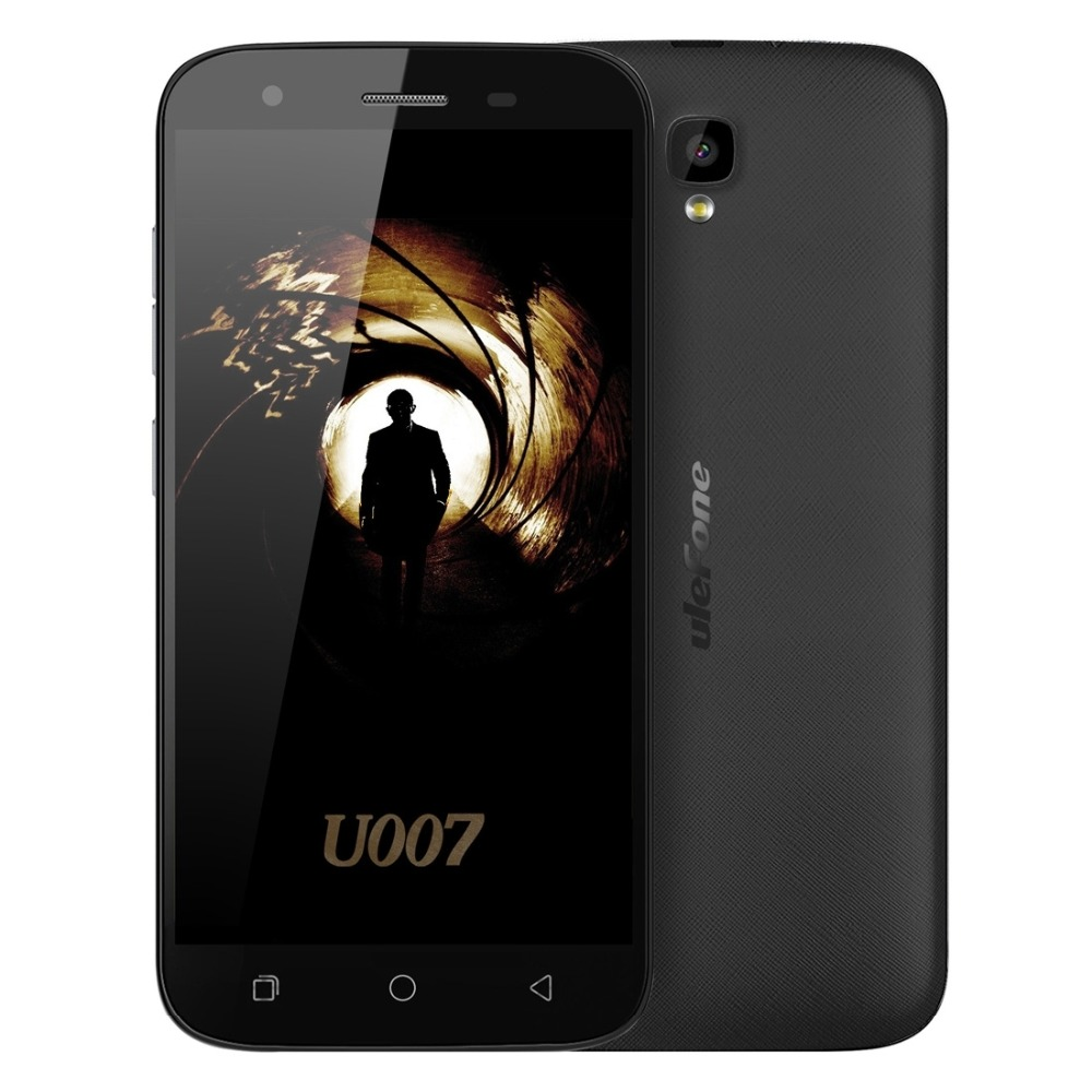 Цена за Ulefone U007 3 Г Телефон 5.0 дюймов Экран Andriod 6.0 MT6580A Quad Core 1.3 ГГц 8 ГБ ROM 1 ГБ RAM Смартфон 8MP 1280x720 пикселей