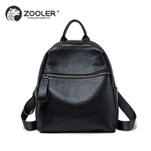 2018 Zooler Genuine Leather woman bag backpacks designed fashion soft cowhide backpacks women travel bag top quality Bolsas#W201