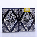 1 Deck Bicycle Black Floral Fashion Playing Cards Limited Sealed  Magic Deck Magia Props Magic Tricks 81288