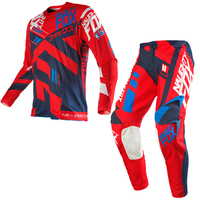 Free Shipping 2018 NAUGHTY 360 MX Gear Set Motocross ATV Dirt Bike Off Road Race Gear Pant Jersey Combo RED