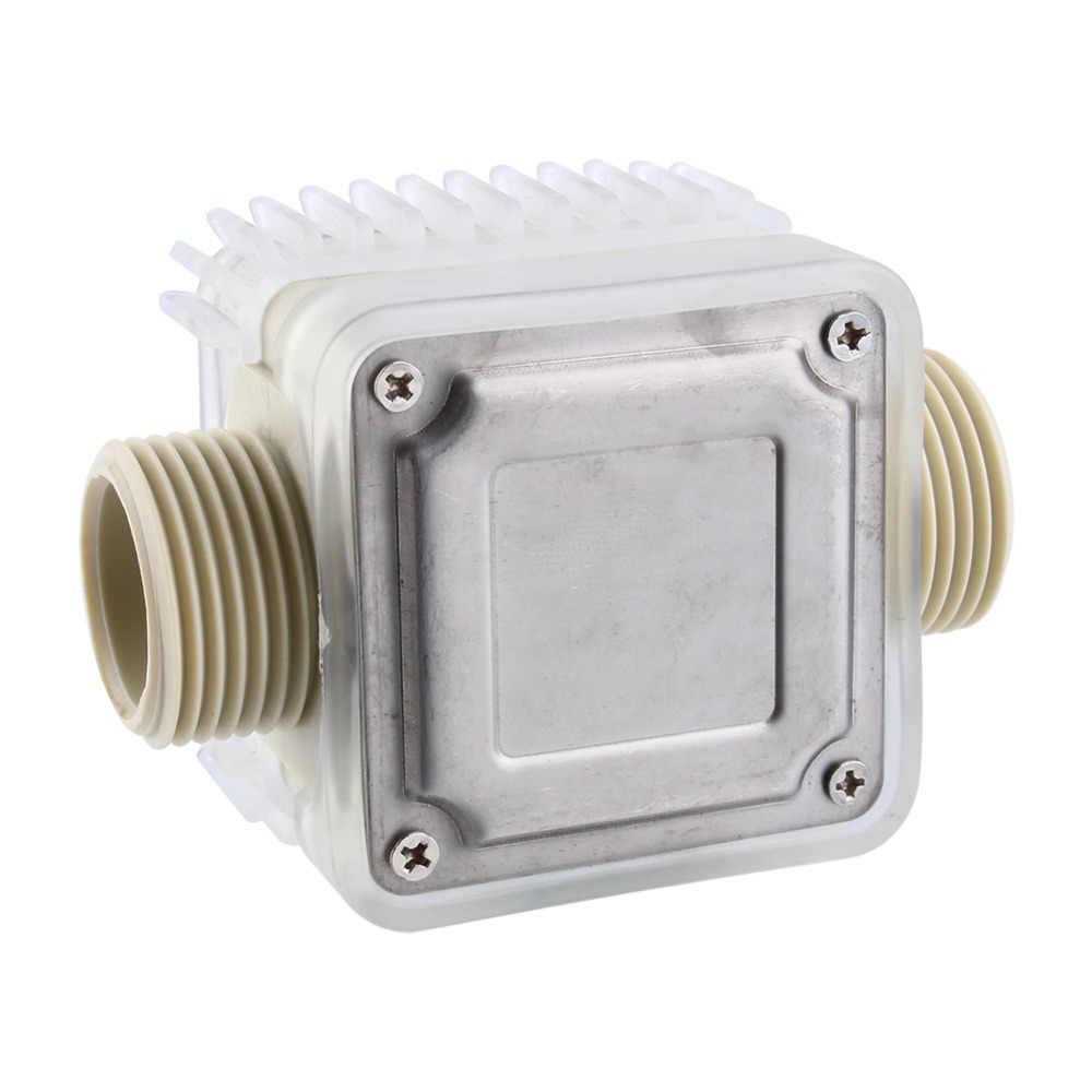 K24 LCD Flow Electroing Turbine Meter Diesel Fuel for Chemicals Water Sea  Adjust Color Liquid Flowmeter Water Meter Rotameter