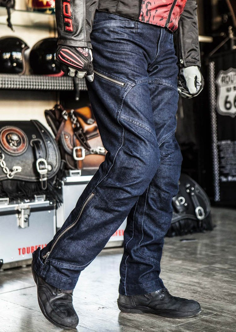 Dimensional cut Professional Motorcycle Pants Jeans Motorbike Jeans slim straight fit motorcycle protective gear with Knee pad 2017 new designer korea men s jeans slim fit classic denim jeans pants straight trousers leg blue big size 30 34