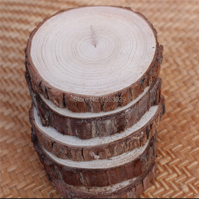 10pcs diy handcraft wood material diy wood crafts log sheet wood 10pcs diy handcraft wood material diy wood crafts log sheet wood wedding decoration rustic home decor junglespirit Choice Image