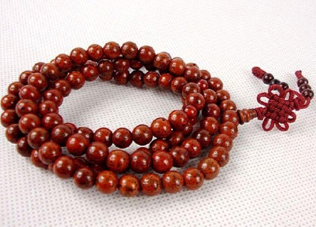 7 mm budismo del tíbet 108 Red de semillas Bodhi Mala collar