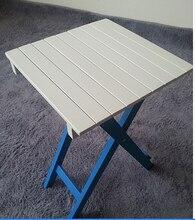 Твердые деревянные складные столы. маленький белый круг стол. балкон бар компьютер журнальный столик
