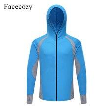 Facecozy, мужские летние куртки для рыбалки, быстросохнущие солнцезащитные топы, женские куртки для альпинизма, дышащие толстовки для кемпинга и пешего туризма