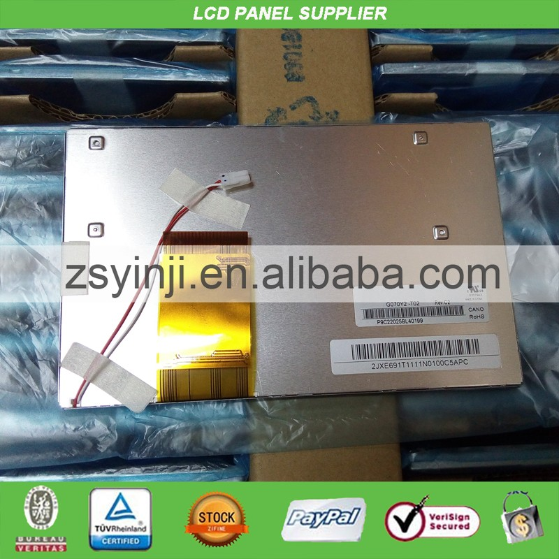 G070Y2 T02 7inch lcd panel