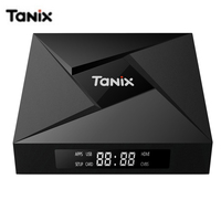 Tanix TX9 Pro Android 7.1 Smart TV BOX 3G RAM 32G ROM Amlogic S912 Octa core CPU BT 4.1 1000M LAN WiFi HDMI Set top Box