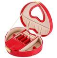 The big red jewelry box cosmetic box