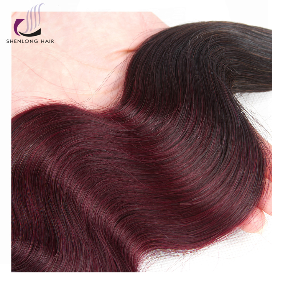 SHENLONG HAIR T1b / 99J Συσκευασίες Χρώματος Μη - Ανθρώπινα μαλλιά (για μαύρο) - Φωτογραφία 4