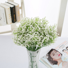 6pcs 50cm Gypsophila Bouquet Combination Artificial baby's breath Flower Fake PU Plant Flower for Wedding Home Party Decorations