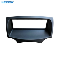 LEEWA Car Stereo Radio Fascia Frame For FORD Ka 2008 2016 Audio 1DIN Dash Plate Panel Frame Installation Trim Kit #CA4982